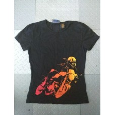Women's Scoop Shirt - Buell Ombre Rider