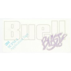 Buell Blast Tank Cover Decals - Purple